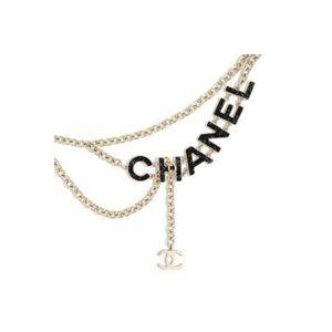 Chanel Runway Gold Chain Belt